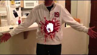 iPad2 Halloween Costume- Gaping hole in torso
