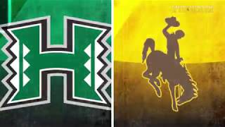Football vs. Hawaii Highlights (9-23-17)