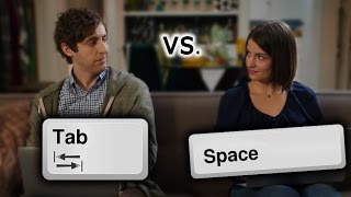Silicon Valley - Tabs vs Spaces War