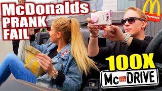 McDrive 100x! McDonalds PRANK FAIL - McDonalds Roulette