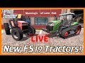 🔴 LIVE: NEW TRACTORS COMING TO FS19 (...mp3