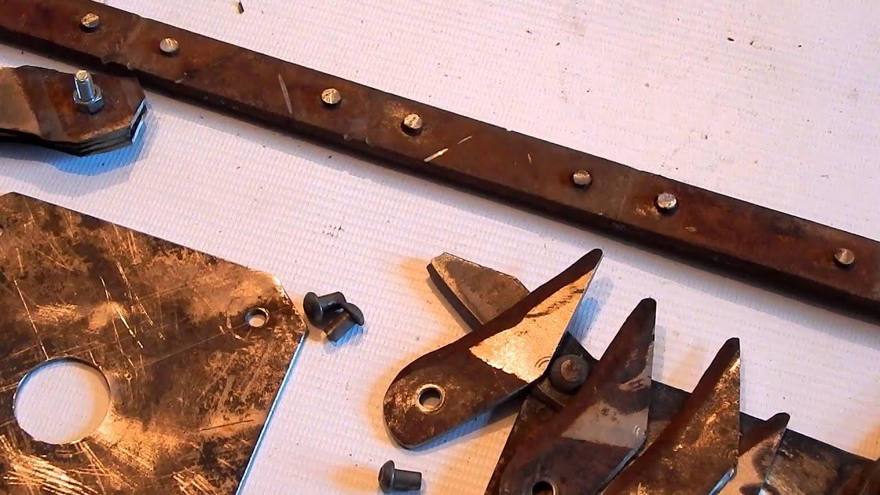 Головка ножа своими руками