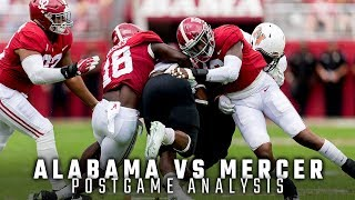 Postgame Analysis: Alabama vs. Mercer