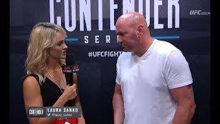 Dana White Announces UFC Contract Winners – Week 5 | Dana White's Tuesday Night Contender Series