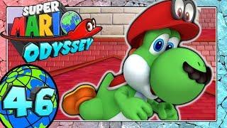SUPER MARIO ODYSSEY Part 46: Yoshi auf dem Schlossdach