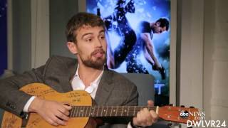 Theo James // Funny & Sexy Moments Insurgent- Part 1