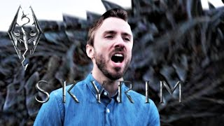 Skyrim: The Dragonborn Comes - Peter Hollens feat. Dragon