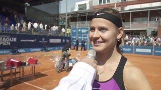 Lucie Šafářová - rozhovor s vítězkou J&T Banka Prague Open 2016