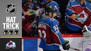 Gabriel Landeskog notches his first career hat trick