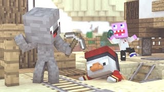 ANGRY BABY SKYWARS GAME!!! - Minecraft Baby Adventures | ALPHAPOPO