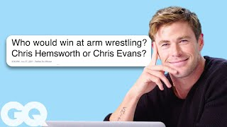 Chris Hemsworth Goes Undercover on Twitter, YouTube and Quora | GQ