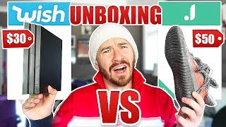 UNBOXING Are These Sites Better Than Wish?! **WISH VS. JOOM, ALIEXPRESS AND OTHER KNOCK OFF SITES**