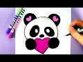 HOW TO DRAW A CUTE PANDAmp3