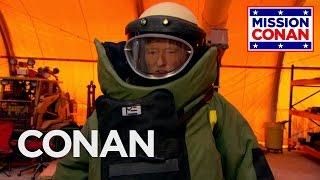 Conan Joins The Explosive Ordnance Disposal Division - CONAN on TBS