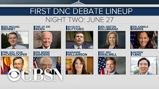 Previewing the first set of 2020 Democratic debates