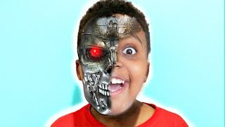 Shiloh TURNS INTO A ROBOT! - Shasha and Shiloh - Onyx Kids