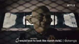 Kelakar HABIS!! Aaron aziz jadi TOYOL!