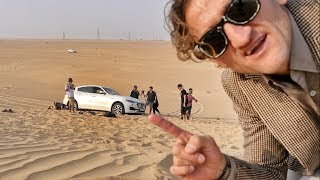 Maserati Levante.. stuck in the sand