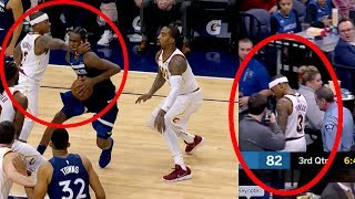 Isaiah Thomas Karate Chop Andrew Wiggins | Ejected | Cavs lost game by 28