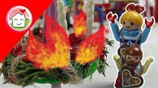 Playmobil Film deutsch Der Adventskranz brennt! / Kinderfilm / Kinderserie von family stories