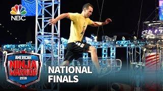 Joe Moravsky at the National Finals: Stage 1 - American Ninja Warrior 2016