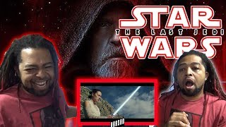 Star Wars: The Last Jedi Trailer (Official) REACTION & REVIEW !!! (Don