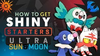 HOW TO GET SHINY STARTERS IN Pokemon ULTRA SUN and MOON! Pokemon Ultra Sun and Moon Shiny Tutorial!