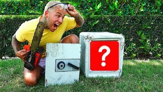 I CUT OPEN THE ABANDONED SAFE AND FOUND THIS....