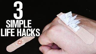 3 Simple Life Hacks and ideas