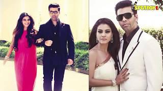 Did Karan Johar Meet Kajol & Get Teary-Eyed? | Bollywood News | SpotboyE
