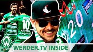 Jan Delay plant nächsten Hit mit Max Kruse & Fin Bartels | WERDER.TV Inside nach Hertha BSC