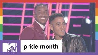 Proud Moment: MTV Movie Awards Best Kiss | Pride Month | MTV