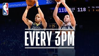The Pelicans and Warriors Combine For An NBA record 43 3PM | January 16, 2019