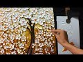 Thick Paint White Flowers Acrylic Painti...mp3