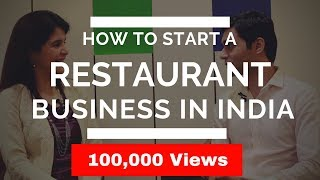 How to Start/Open a Restaurant Business in India I Entrepreneur Success Story India #ChetChat