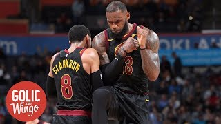 Former Cavaliers GM suspects LeBron James stays if Cavaliers win title | Golic and Wingo | ESPN