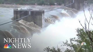 Texas Flooding Kills At Least Two After Days Of Torrential Rain | NBC Nightly News