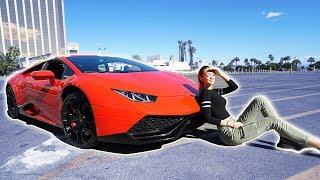 SURPRISING my Boyfriend with his DREAM CAR 😍 (he didn