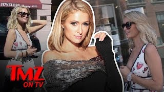 Paris Hilton Rides The Shade Train Into Khloe Kardashian | TMZ TV