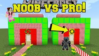 Minecraft: NOOB VS PRO!!! - SPOT THE DIFFERENCE CHRISTMAS - Mini-Game
