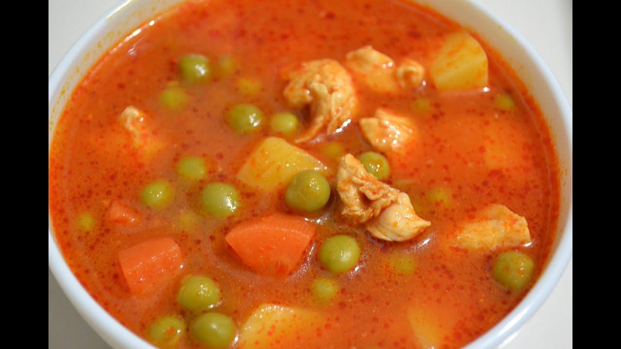 Как приготовить соус суп с курицей