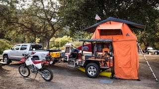 Inside One of the Coolest Custom Camping Trailers We