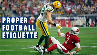 Proper Football Etiquette: Please & Thank You Goes a Long Way | NFL Films Presents