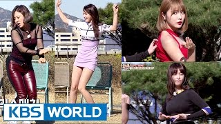 Unnies try out for TWICE, AOA, Girl