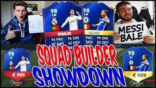 98 RB RONALDO vs. 98 HAZARD SQUAD BUILDER SHOWDOWN! ⚽⛔️🔥 - FIFA 17 ULTIMATE TEAM (DEUTSCH)
