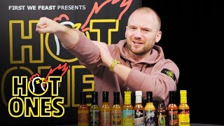Sean Evans Reveals the Season 8 Hot Sauce Lineup | Hot Ones