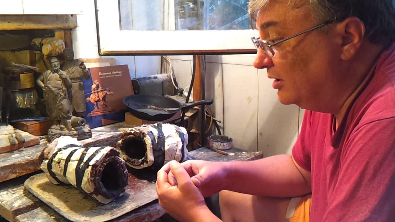 Изготовление восковой модели для литья из бронзы в домашних условиях. Часть 1 - Bayan.Tv - Bayana dair. - Video Portal