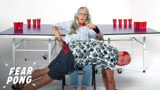 Seniors Play Fear Pong (Deborah vs. Michael) | Fear Pong | Cut