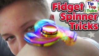 FIDGET SPINNER TRICKS | TipTapTube Spielzeug