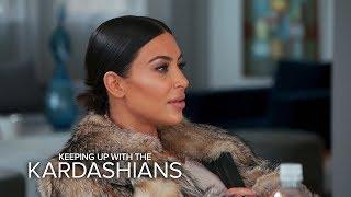 "KUWTK | Kim Kardashian Calls Caitlyn a ""Liar"" Over Her Book | E!"